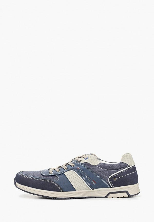 мужские кроссовки instreet, синие