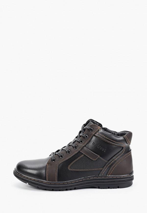 мужские высокие ботинки instreet, черные