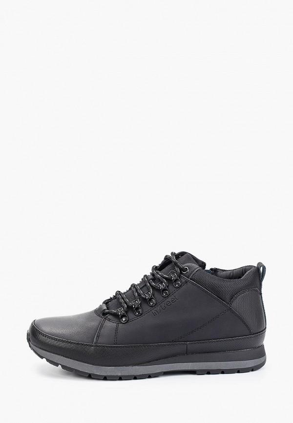 мужские низкие ботинки instreet, черные