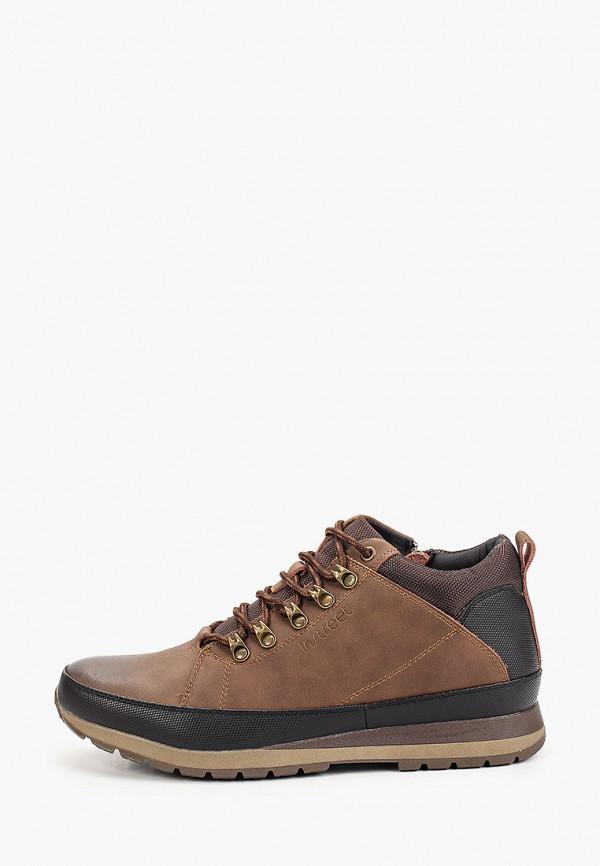 мужские низкие ботинки instreet, коричневые