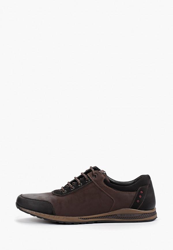 Фото - мужские кроссовки Instreet коричневого цвета