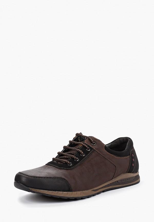 Фото 2 - мужские кроссовки Instreet коричневого цвета