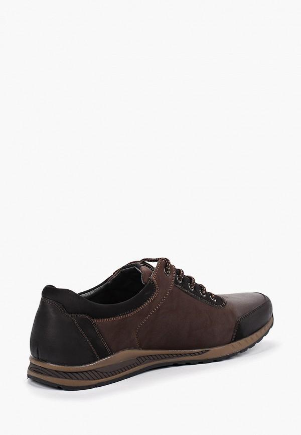 Фото 3 - мужские кроссовки Instreet коричневого цвета