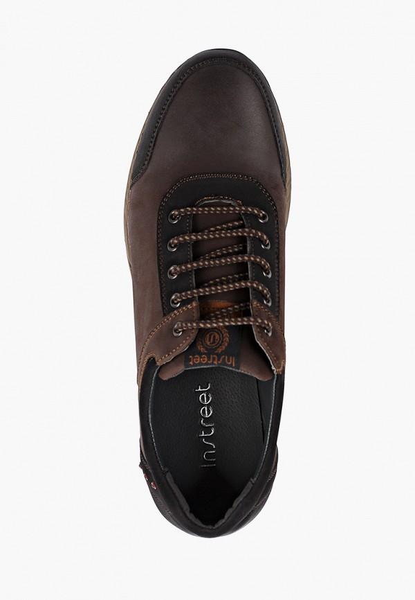 Фото 4 - мужские кроссовки Instreet коричневого цвета