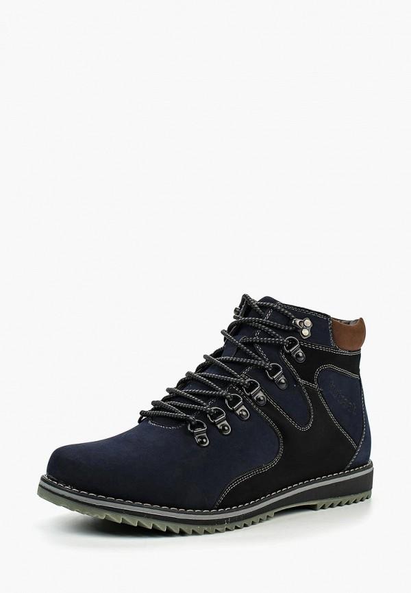 мужские высокие ботинки instreet, синие