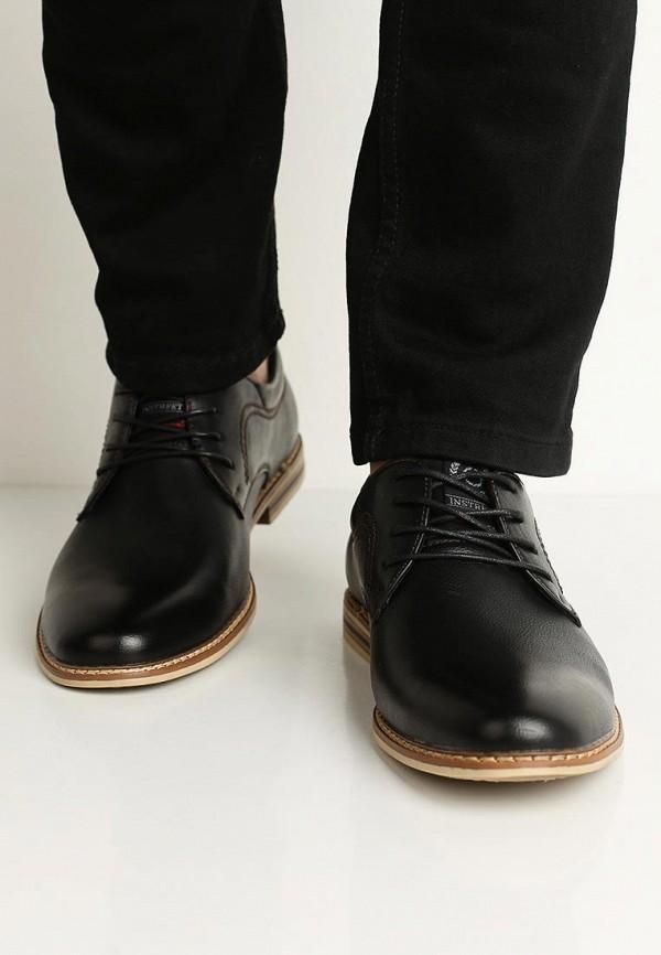 Фото 5 - мужские туфли Instreet черного цвета