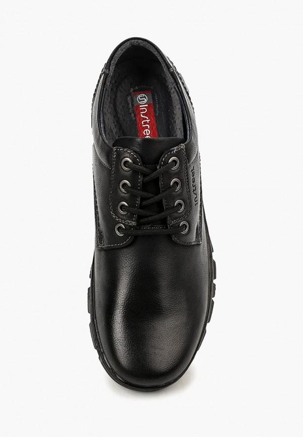 Фото 4 - мужские ботинки и полуботинки Instreet черного цвета