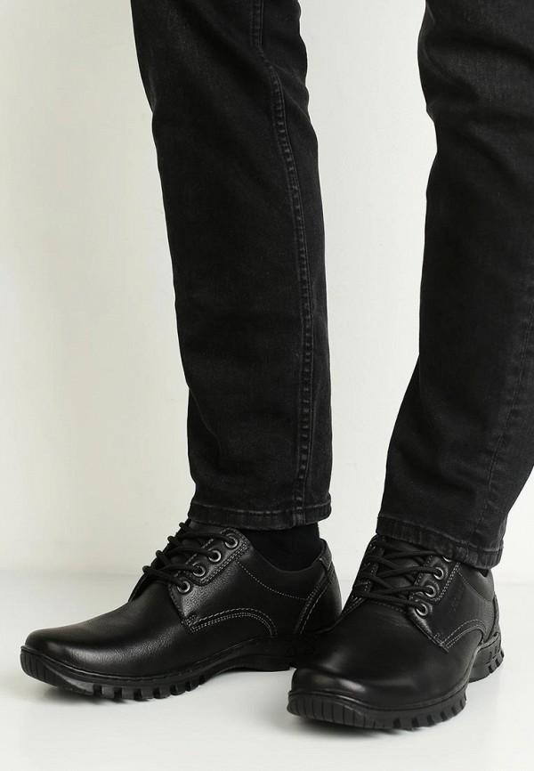 Фото 5 - мужские ботинки и полуботинки Instreet черного цвета