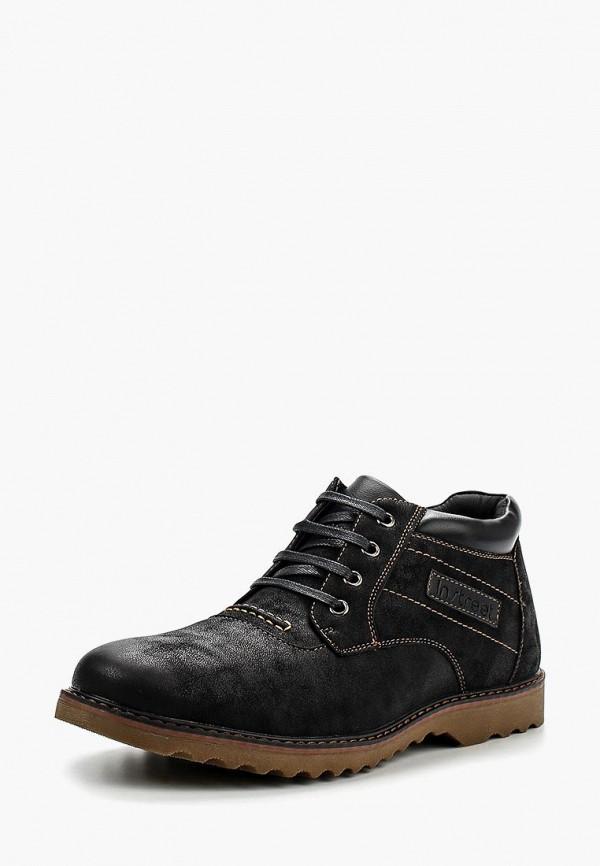 Фото - мужские ботинки и полуботинки Instreet черного цвета