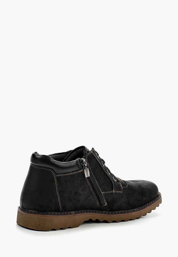 Фото 2 - мужские ботинки и полуботинки Instreet черного цвета