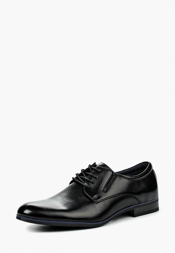 Фото - мужские туфли Instreet черного цвета