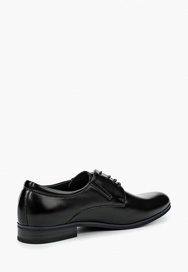 Фото 2 - мужские туфли Instreet черного цвета