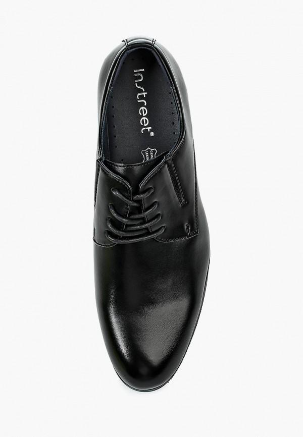 Фото 4 - мужские туфли Instreet черного цвета