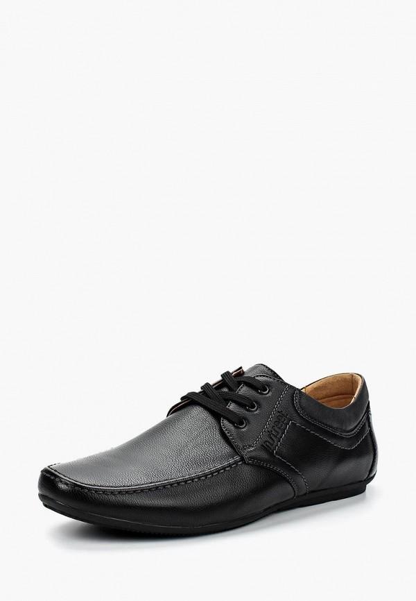 мужские туфли instreet, черные