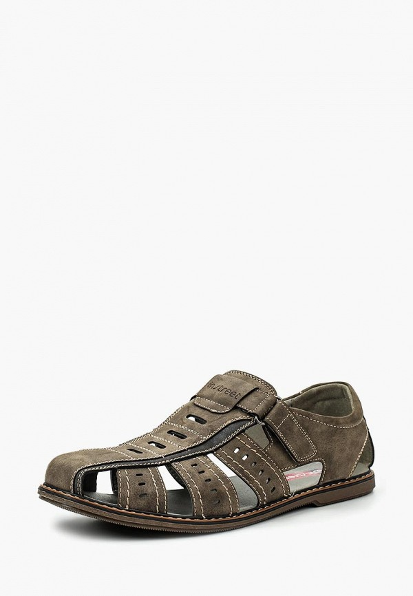 мужские сандалии instreet, коричневые