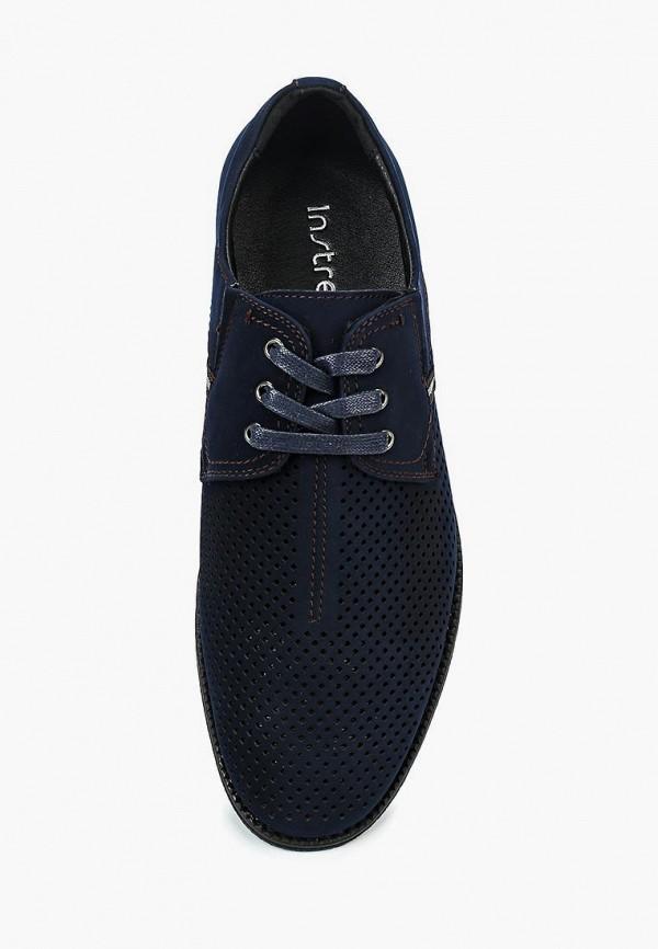 Фото 4 - мужские туфли Instreet синего цвета