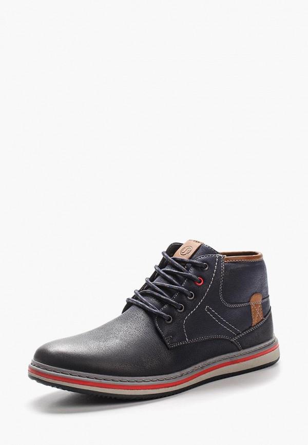 Фото - мужские ботинки и полуботинки Instreet синего цвета