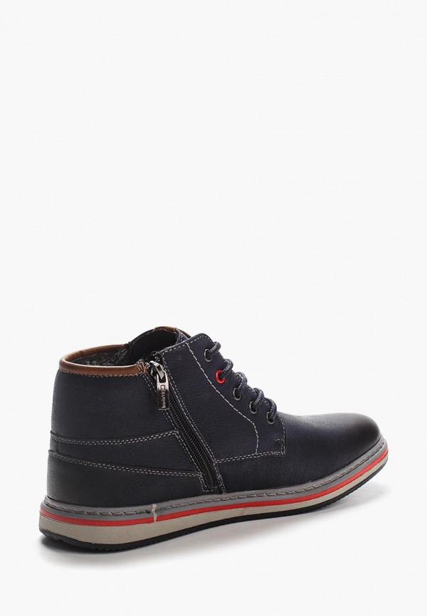 Фото 2 - мужские ботинки и полуботинки Instreet синего цвета