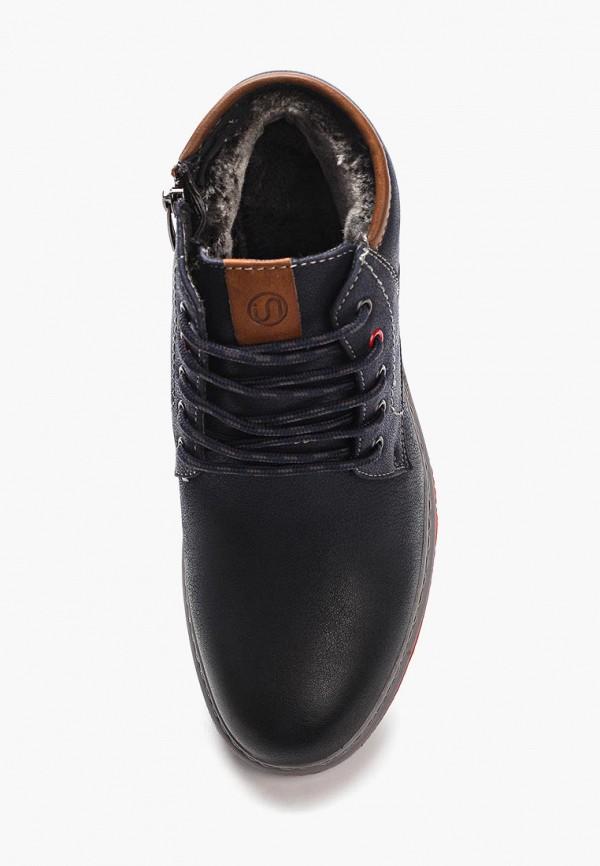 Фото 4 - мужские ботинки и полуботинки Instreet синего цвета