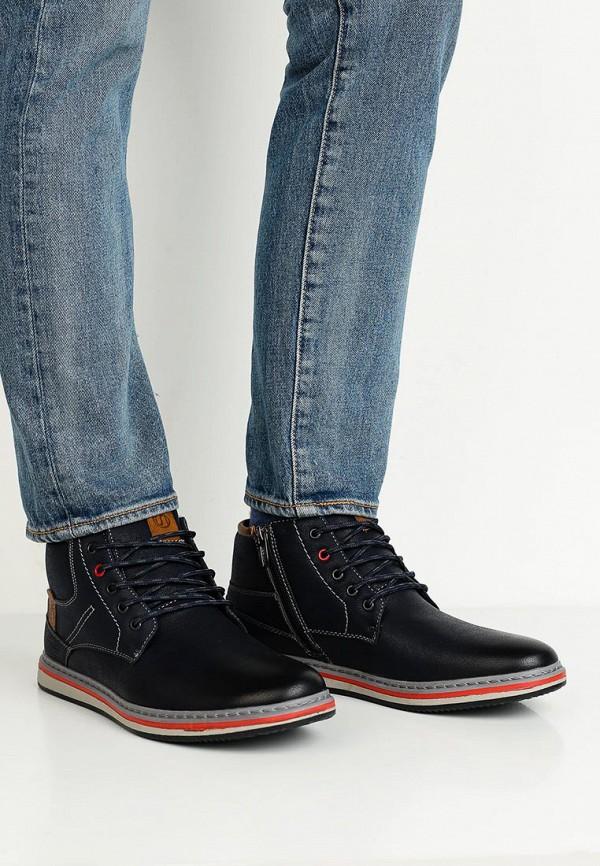 Фото 5 - мужские ботинки и полуботинки Instreet синего цвета