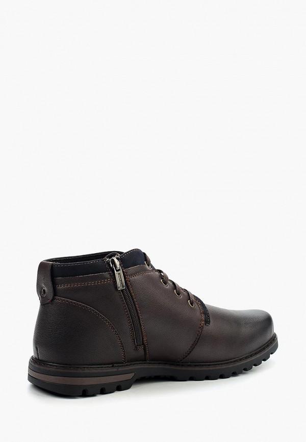 Фото 2 - мужские ботинки и полуботинки Instreet коричневого цвета