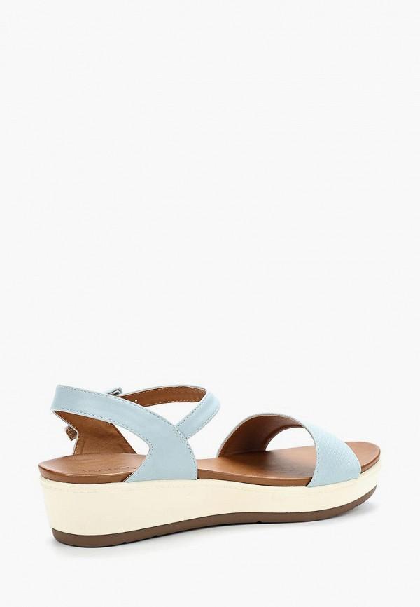 Фото 2 - женские сандали Instreet голубого цвета