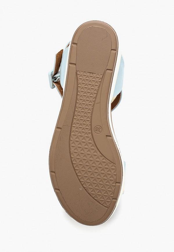 Фото 3 - женские сандали Instreet голубого цвета