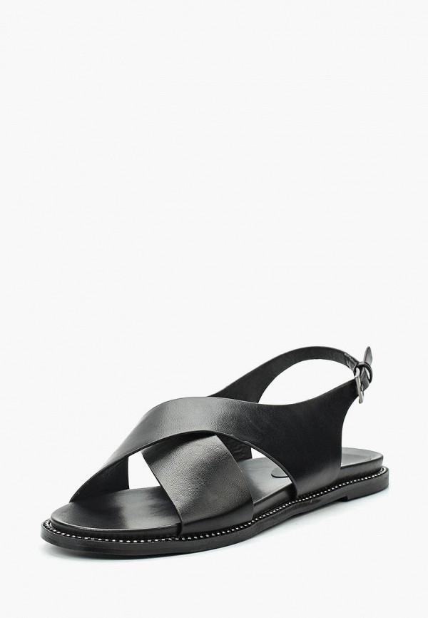 женские сандалии instreet, черные