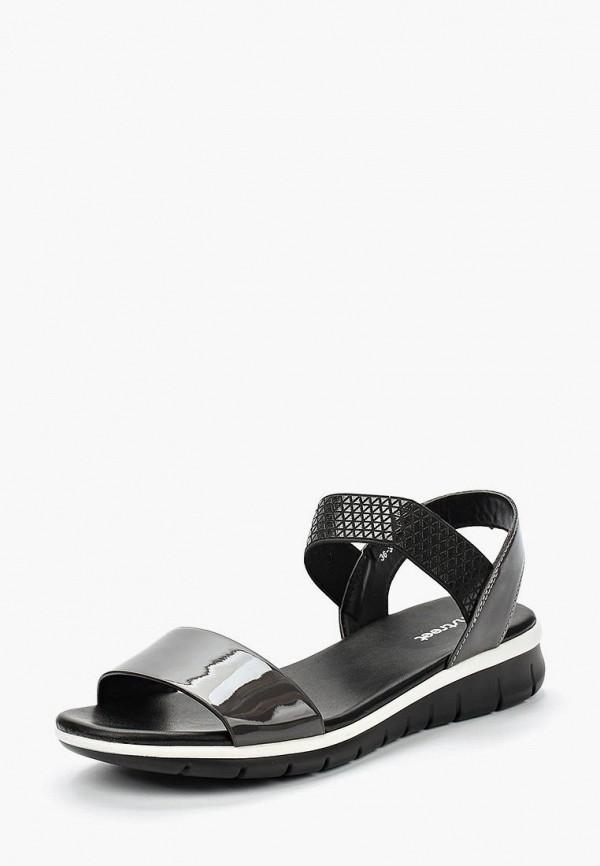 Купить женские сандали Instreet серого цвета
