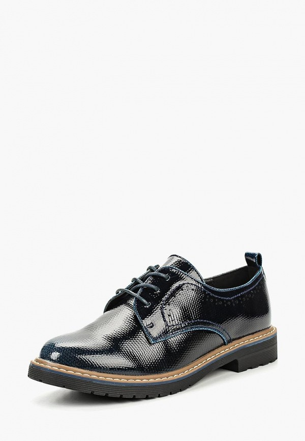 женские ботинки instreet, синие
