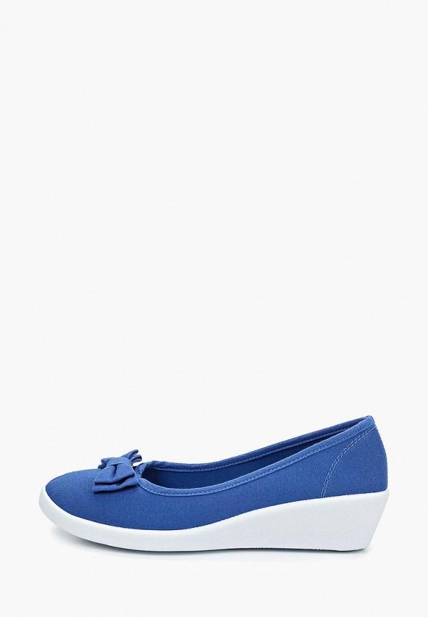 женские туфли instreet, синие