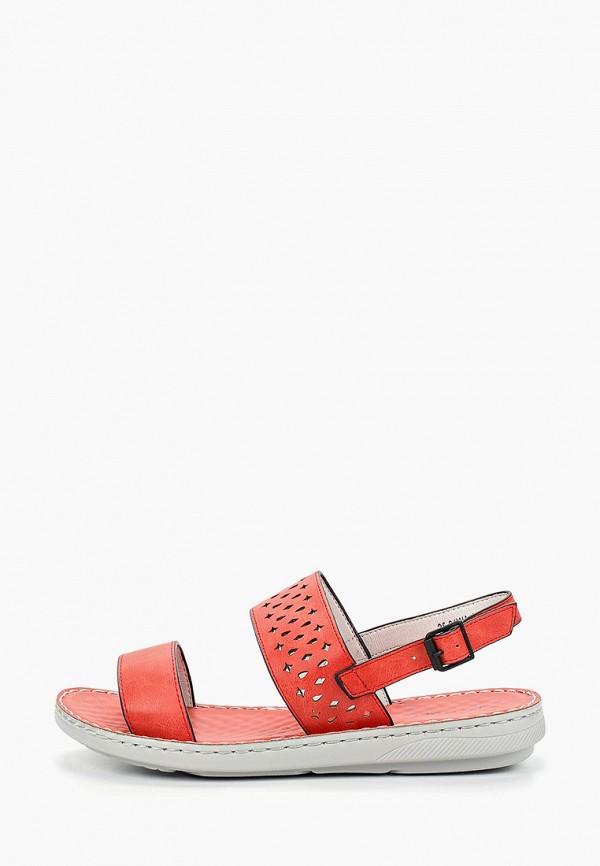 женские сандалии instreet, красные
