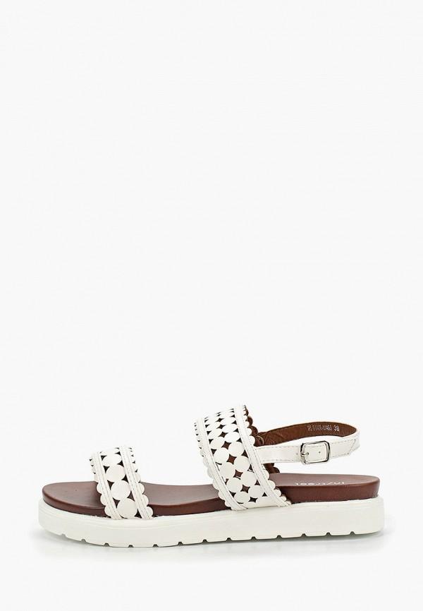 женские сандалии instreet, белые