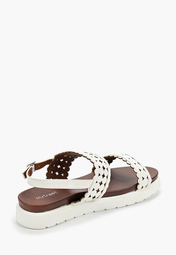 Фото 3 - женские сандали Instreet белого цвета