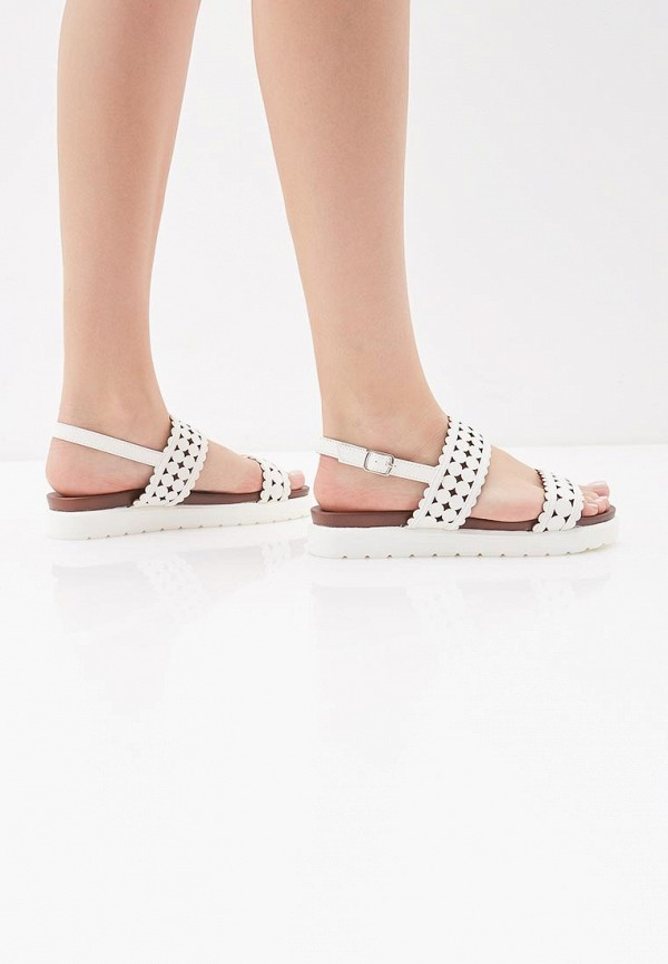Фото 6 - женские сандали Instreet белого цвета