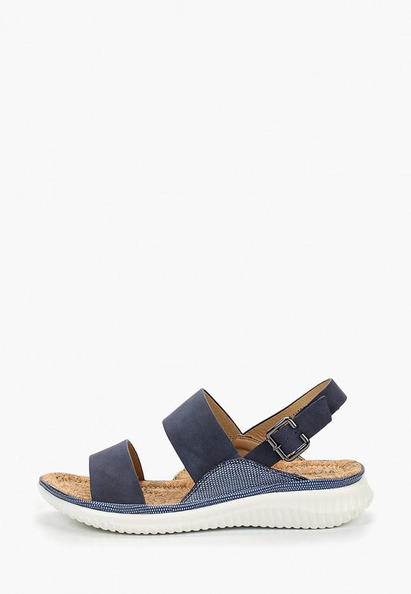 женские сандалии instreet, синие