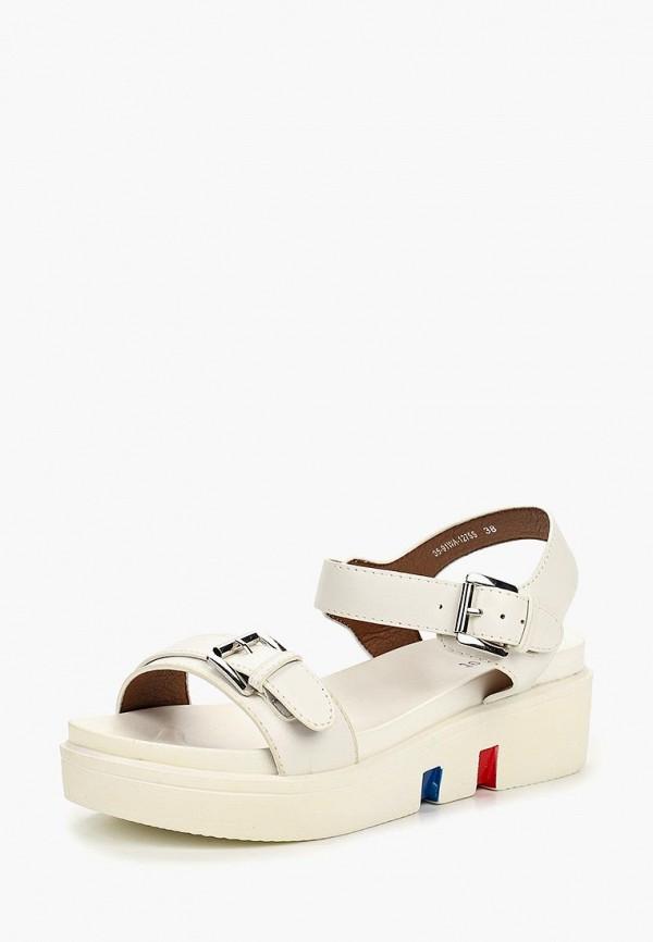 Фото 2 - женские сандали Instreet белого цвета