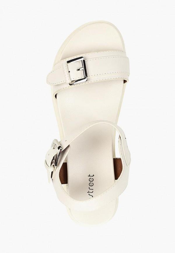 Фото 4 - женские сандали Instreet белого цвета