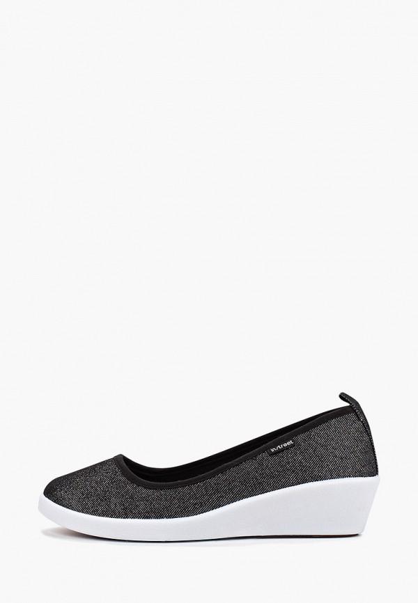 женские туфли instreet, серебряные