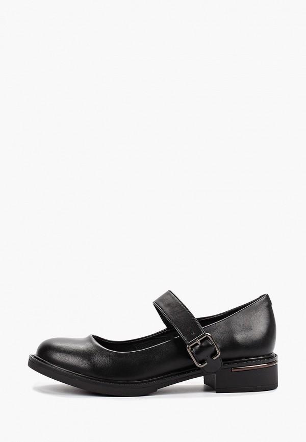 Фото - женские туфли Instreet черного цвета