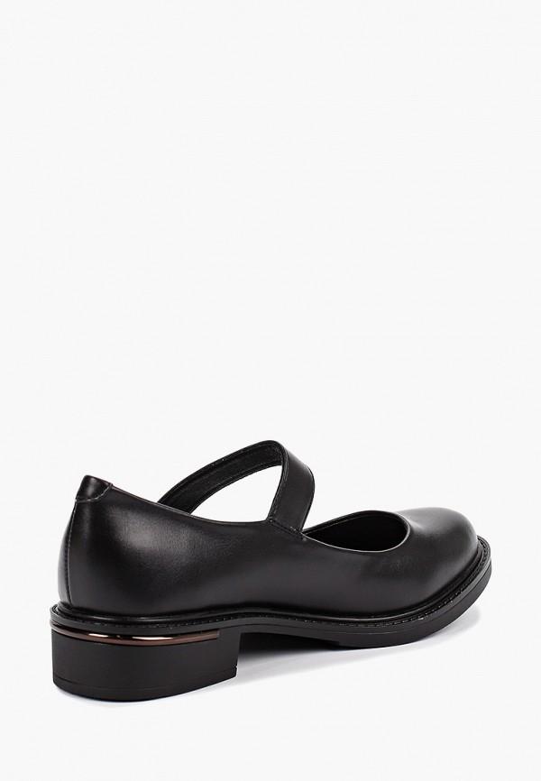 Фото 3 - женские туфли Instreet черного цвета