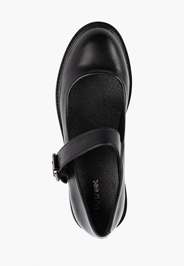 Фото 4 - женские туфли Instreet черного цвета