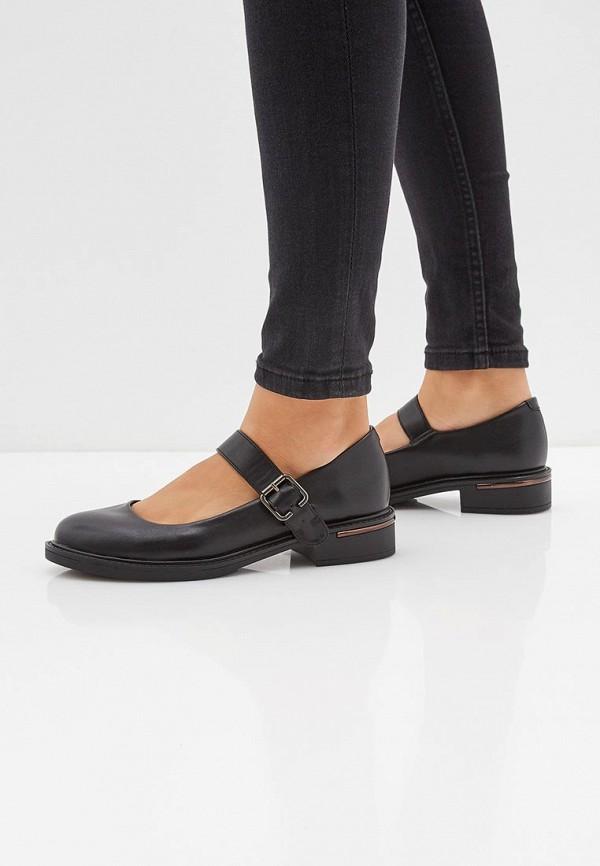 Фото 6 - женские туфли Instreet черного цвета