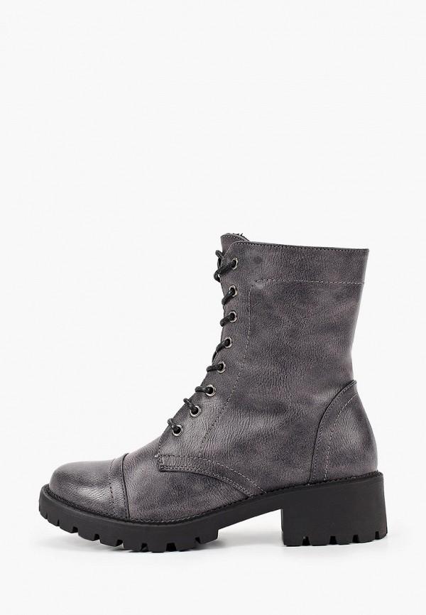 женские ботинки instreet, серые