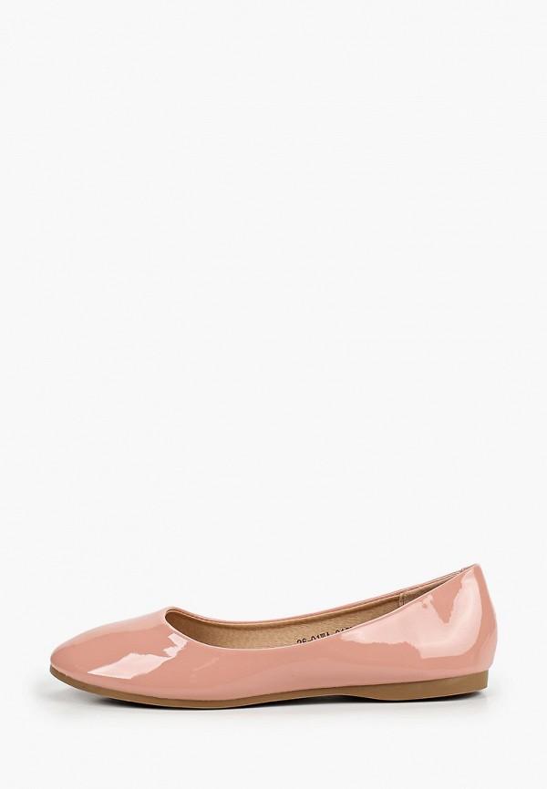 женские балетки instreet, розовые