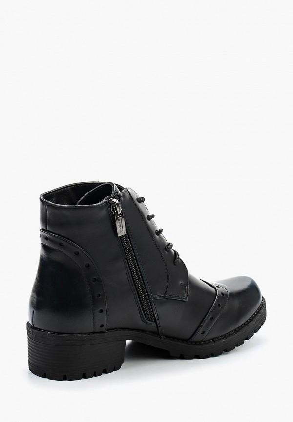 Фото 2 - женские ботинки и полуботинки Instreet черного цвета
