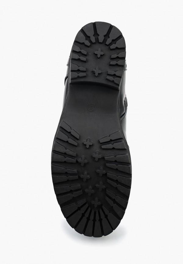 Фото 3 - женские ботинки и полуботинки Instreet черного цвета