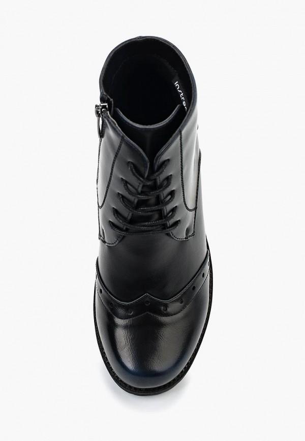 Фото 4 - женские ботинки и полуботинки Instreet черного цвета