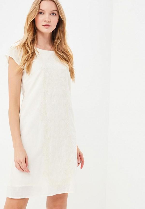 Купить Платье Indiano Natural, IN012EWANOS1, бежевый, Весна-лето 2018