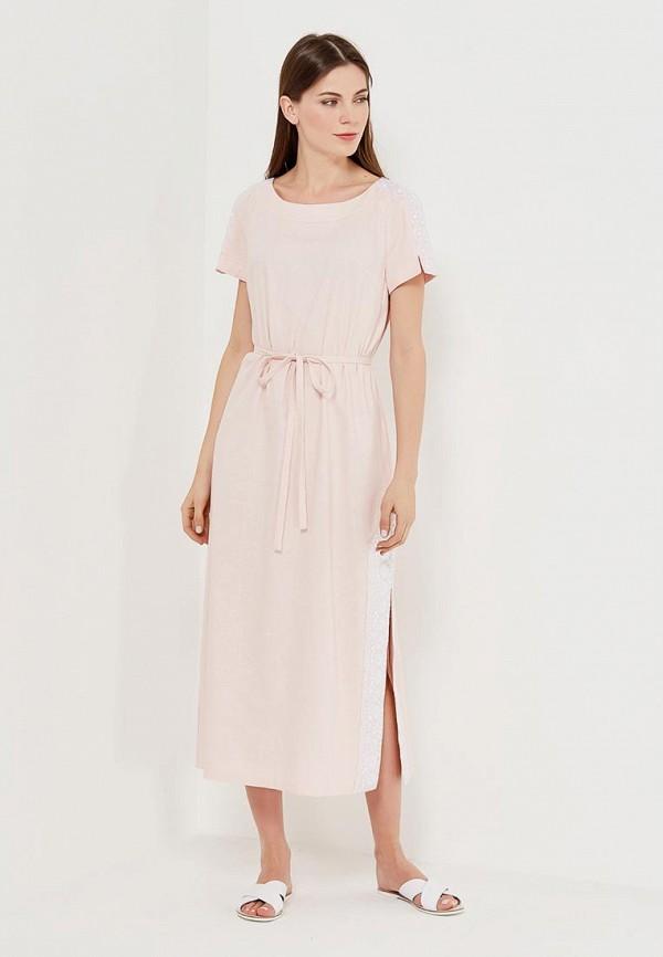 Купить Платье Indiano Natural, IN012EWANOS4, розовый, Весна-лето 2018